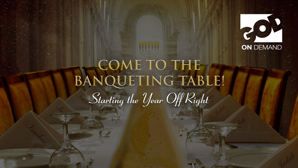Come To The Banqueting Table