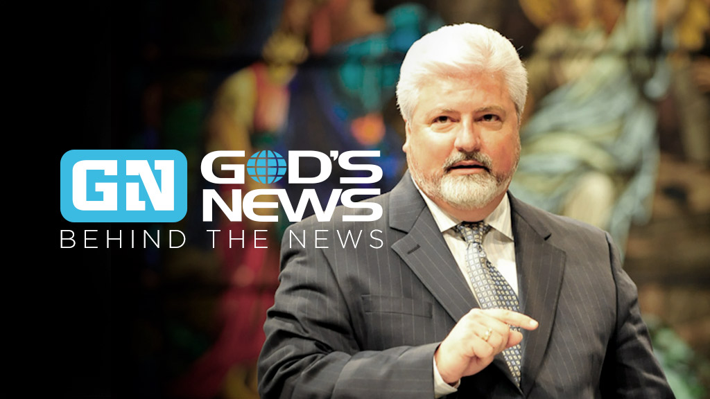 God's News Behind the News
