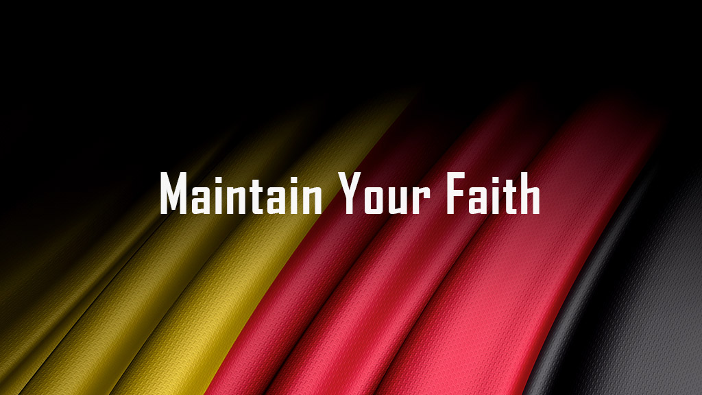 Maintain Your Faith Conference